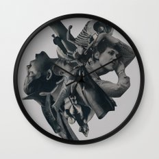 collapsing under your own gravity Wall Clock