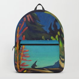 Rocky Mountain Views Backpack