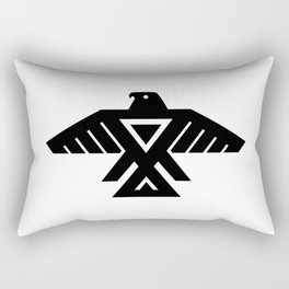 Thunderbird flag - High Quality image Rectangular Pillow