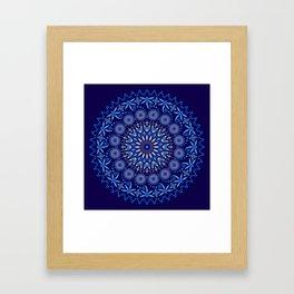 Ancestors Dragonfly (Blue) Framed Art Print