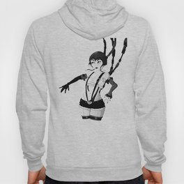 I am Robot Pen and Ink Hoody