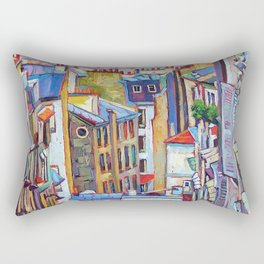 Montmartre View Rectangular Pillow