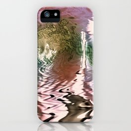 Momma Dragon Coming Home iPhone Case