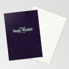 I Cast Magic Missile Stationery Cards