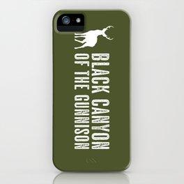 Deer: Black Canyon of the Gunnison, Colorado iPhone Case