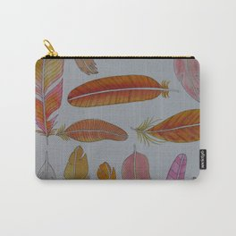 Warm Feathers Carry-All Pouch