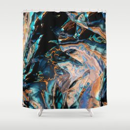 Catch that electric eel Shower Curtain
