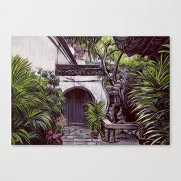Shanghai Garden Canvas Print