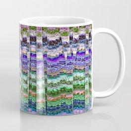 Textured Mosaic Layers Coffee Mug