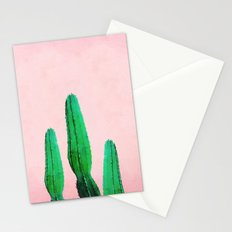 Spring Cactus II Stationery Cards