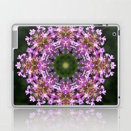 Constellation of Verbena flowers mandala Verbena bonariensis 1829 k2 Laptop & iPad Skin