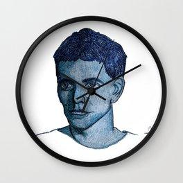Head of Lou Reed Wall Clock