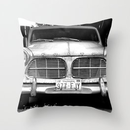 Old Volvo Throw Pillow