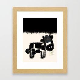 Ol' Blue Eyes Framed Art Print