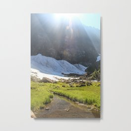 Summer Creek Metal Print
