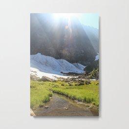 Summer Creek Metal Print