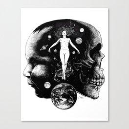 Harmonic Dance of Death & Rebirth Canvas Print