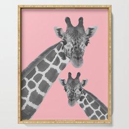 Giraffe 2 Serving Tray