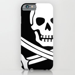 Jolly Roger Pirate iPhone Case