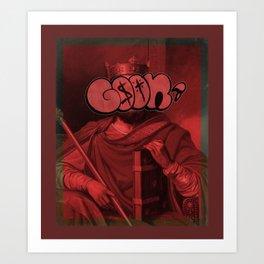 GoonThrone Art Print