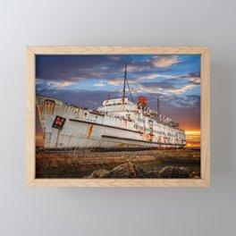 Duke of Lancaster Sunset Framed Mini Art Print