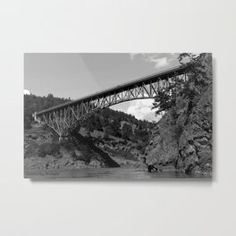 Deception Pass, the Bridge to Whidbey Island Metal Print