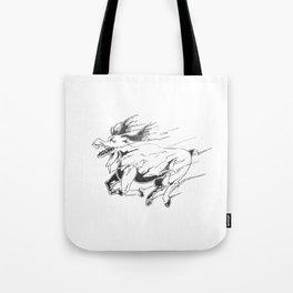 Caribou minute Tote Bag