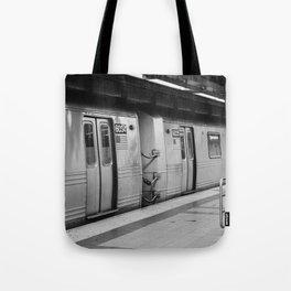 New York City metro, USA | City escape | Black and white Travel photography art print Art Print Tote Bag