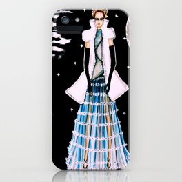 Ethereal Beauty Fashion Illustration By James Thomas Ryan iPhone Case