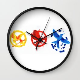 The H Games - Mockingjay Wall Clock