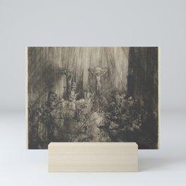 The Three Crosses, 4th State Mini Art Print