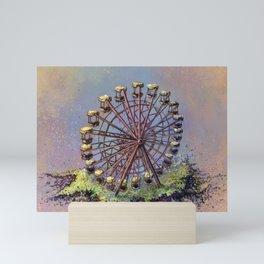 Ferris wheel Chernobyl Mini Art Print