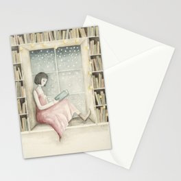 The Book Lover Stationery Cards