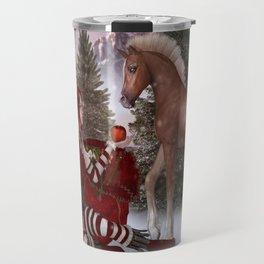Christmas Apple Travel Mug