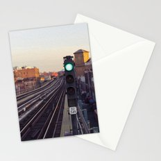 Take The 'A' Train Stationery Cards