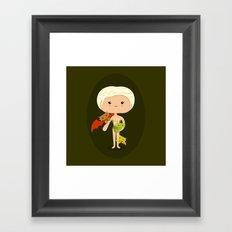 Dragons' Mother Framed Art Print