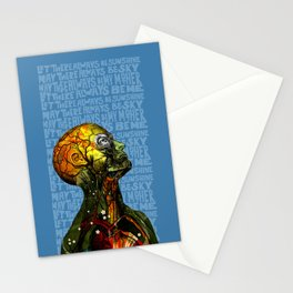 Let there always be me Stationery Cards