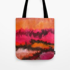 Watercolor abstract landscape 26 Tote Bag