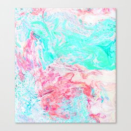 Paper Marble #society6 #decor #buyart Canvas Print