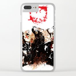 Polish Power Clear iPhone Case