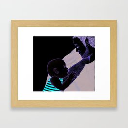 Modern Dads Framed Art Print