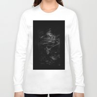 the cure Long Sleeve T-shirts featuring CURE by Atrament Fox