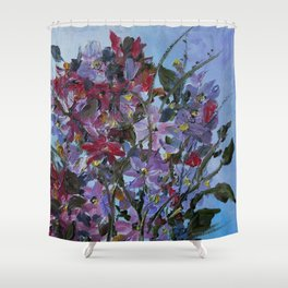 Heavenly Scent For Mom Shower Curtain