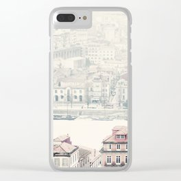 city dreams Clear iPhone Case