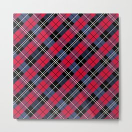 Squared Pattern 5 Metal Print