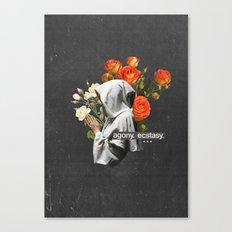 Agony. Ecstasy. Canvas Print