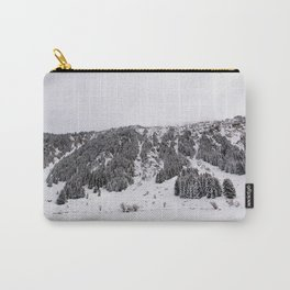 White Winterscapes III Carry-All Pouch