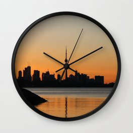 Toronto Sunrise Wall Clock