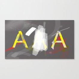 America's Credit Note Canvas Print