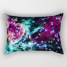 space stars. Rectangular Pillow
